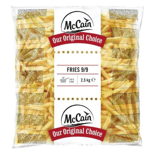 MC CAIN Fries-9x9