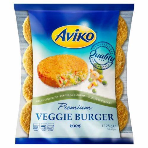 AVIKO veggie burger1